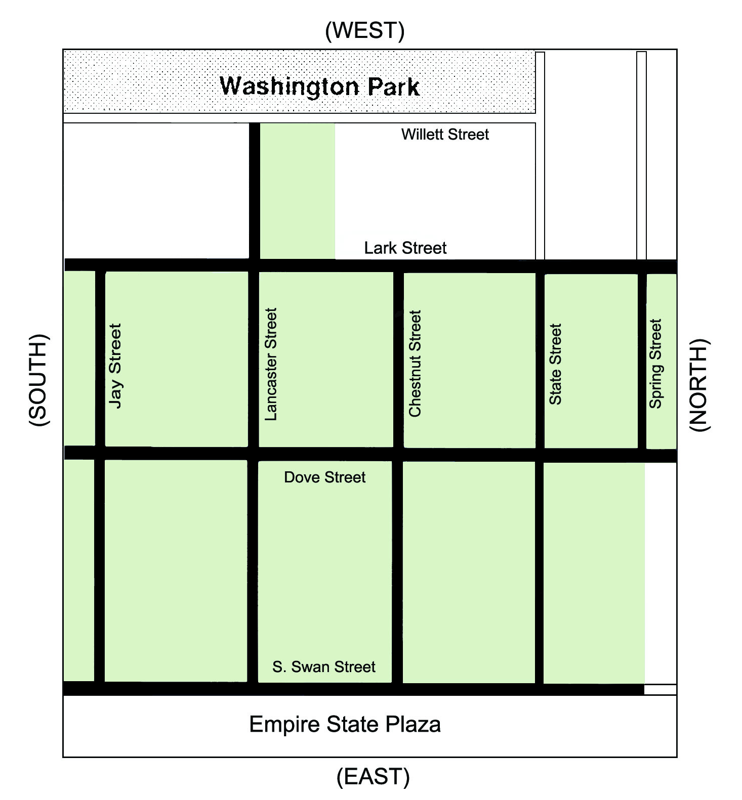 Center Square Neighborhood boundaries