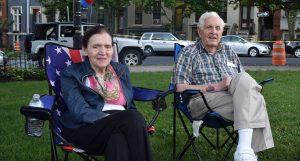 Harold and Ruth Rubin at NNO 2016 H-J Park